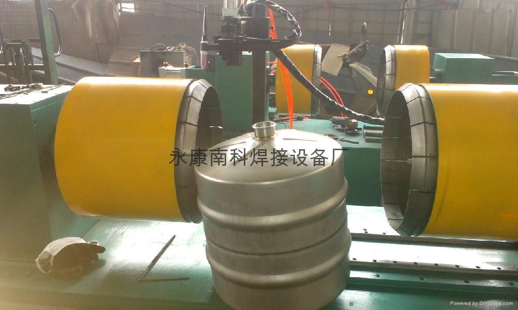 啤酒桶自动焊接设备,啤酒桶焊机 3