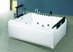 Massage bathtub(with 17 inch TV)