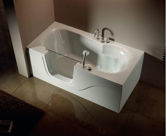 Walk In Bathtub Walk In Tub Massage Bathtub EB 012B TEMSUNG China Manufact