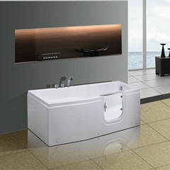 Walk  in tub'walk in tub'massage bathtub T-119B
