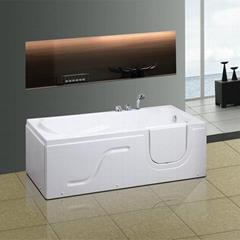 开门浴缸  老人浴缸  残疾人浴缸 T-117