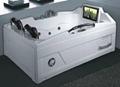 Massage bathtub(with 17 inch TV)   T-2118C