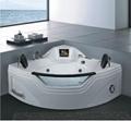 Massage bathtub T-2121C  (With 8 inch TV)