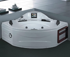 Massage bathtub  T-2112C  (With 8 inch TV)