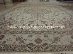 供應手工絲毛合織地毯 廣州地毯