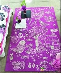让世界爱上亚美地毯 批发羊毛地毯 100%制造