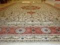 優質水洗絲毛合織地毯 بساط