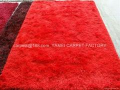 同苹果一样品质细丝长毛地毯 毛高2.5cm,重3600克/平方米