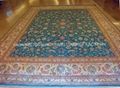 Gold carpet and Persian Tapestry - Let