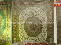 Czech Republic European Art Antique persian silk carpet (Hot Product - 1*)