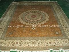 供应波斯地毯 奥地利,澳大利亚 孟加拉国地毯 天然蚕丝地毯