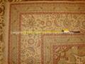 手工波斯地毯/挂毯305x246cm 波斯富贵优惠德国真丝地毯 5