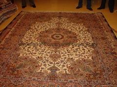 絲毛合織地毯 年產量19,00平方英呎 春節晚會地毯