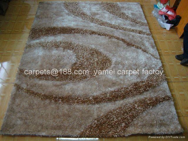 中國亞美地毯廠生產  毛茸茸的地毯 長毛地毯 1