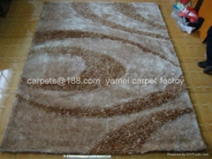 China Yamei carpet factory produces POLYESTER CARPET & shaggy carpet