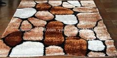 中國淅川亞美地毯廠生產中國結+絲地毯出口