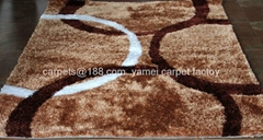 中国亚美地毯厂优惠销售长毛地毯 DC+中国结毯子