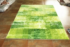 廣州市番禺區大石街南大路2號批發長毛地毯 訂製純色系列冰絲地毯