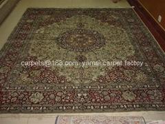 124 届广交会供应艺术挂毯 上海地毯 广州手工地毯