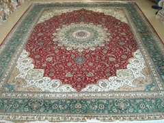 handicraft carpet Kingdom which in Guangzhou the exhibition wholesale carpet