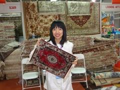 供應生產微型1150 L 限量版手工藝朮桂毯,真絲桂毯