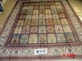 手工丝绸地毯 波斯图案 9x12ft  批发零售在亚美地毯厂 4