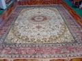 亚美批发 手工真丝地毯10x1