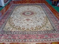 亞美批發 手工真絲地毯10x1