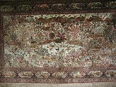 批发沙特阿拉伯地毯 自然湖光丽色艺术挂毯