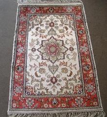 128廣交會批發高級地毯-2x3ft手工波斯小毯子