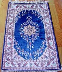 small persian silk rug 2x3 ft