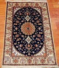 small persian silkrug 2x3 ft