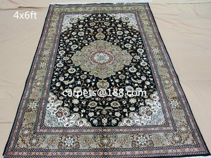 130屆廣交會供應波斯地毯 天然植物染色真愛系列手工地毯  2