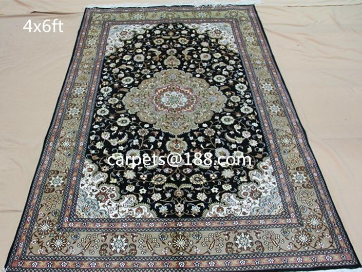 130rd Canton Fair True Love Series Persian silk carpets 2