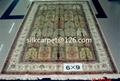 特级手工丝绸波斯图案 波斯地毯