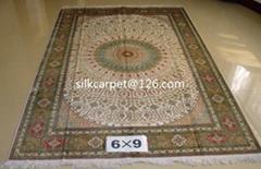 700L 手工真丝波斯地毯6x9 ft 批发 零售