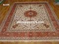 供應皇宮挂毯 天然蠶絲地毯 手