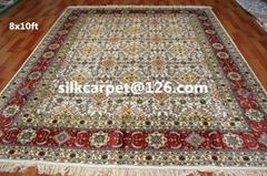 供應   手工藝術掛毯 德國地毯 手工真絲波斯地毯8X10 ft