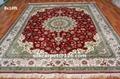 波斯地毯 仿古地毯 手工打结真