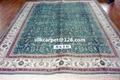 波斯富贵批发生产手工真丝 8X10 ft,艺术地毯 波斯地毯, 2
