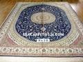 亚美汇美优恵德国真丝挂毯 手工 真丝波斯地毯 8x10ft 美国地毯 2