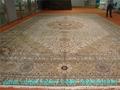 The esteemed Aramco carpet factory-silk