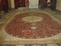 供巨型手工波斯地毯 沙特阿拉伯图案 今日8折广交会热抢挂毯 1