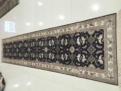 世界名毯-亞美走廊毯子-長方型絲綢地毯 泰國地毯