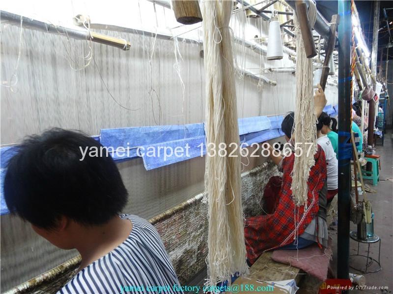 中国   天然染色祈祷地毯 波斯地毯18X12 ft  2