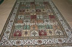 Large quantity discount handmade  persian silk carpets