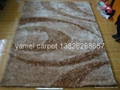 中國淅川亞美地毯廠生產毛茸茸的
