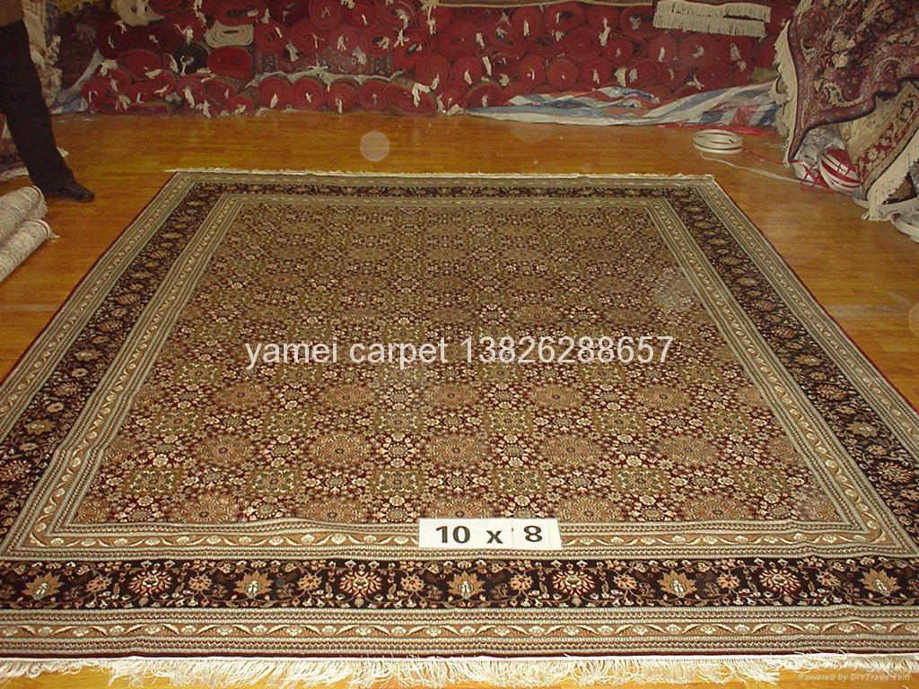 工厂供应丝绸 羊毛地毯 波斯地毯 意大利地毯 古代地毯 1