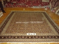 工廠供應絲綢 羊毛地毯 波斯地