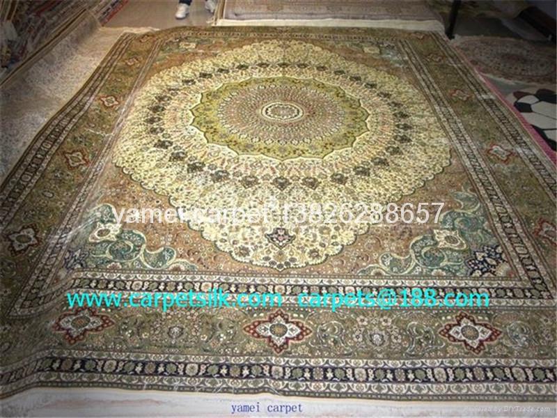 供应手工波斯地毯,供中美谈判室专用地毯 2